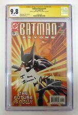 Batman Beyond #9 CGC SS 9.8 NM/M Signature Series Will Friedle Signed DC 2000