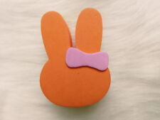 Cute Orange Rabbit Antenna Balls Car Aerial Ball Antenna Topper Decor Ball 2018