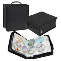 320 CD DVD Disc Disk Carry Case Wallet Bag Storage Folder Ring Binder Compact
