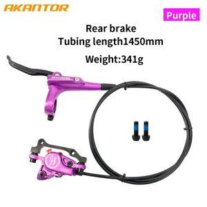 AKANTOR MTB Bike Hydraulic Disc Brake Set With Calipers Brake Disc Rotor Shimano