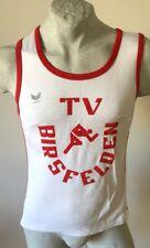 MAGLIA ERIMA ATHLETIC TV BIRSFELDEN CANOTTA TANK TOP RUNNING JERSEY VINTAGE