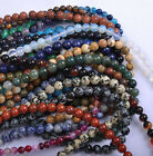 Wholesale Natural Gemstone Round Spacer Loose Beads 4/6/8/10/12mm DIY Jewelry