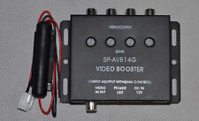1 to 4  Car DVD LCD TV Video Monitor Amplifier Booster Distribution RCA Splitter