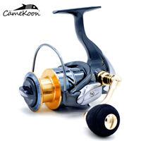 CAMEKOON Spinning Reel Graphite Body Max Drag 12KGs Fresh/Saltwater Fishing Reel