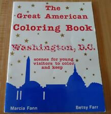 Paperback Coloring Book The Great American Coloring Book Washington D.C. !