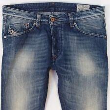 Mens Diesel DARRON 0885R Slim Tapered Regular Fit Blue Jeans W32 L34