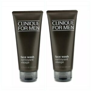 2 X Clinique Men Face Wash (For Normal to Dry Skin) 200ml Cleansers