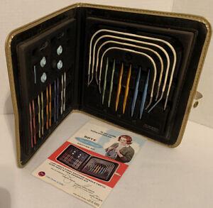 Vintage Set 'BOYE Needle Master Knitting Kit Sewing Stitch Holders No. 360 60's