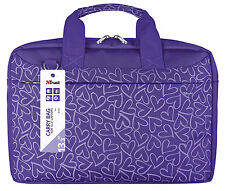 "NEW STYLISH TRUST 21164, BARI 13.3"" LAPTOP TABLET ULTRABOOK PURPLE CARRY BAG"