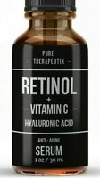 Retinol + Vitamin C & Hyaluronic Acid  Anti-Aging Fine line Wrinkle Serum