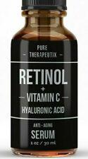 Retinol + Vitamin C & Hyaluronic Acid  Anti-Aging Fine line Wrinkle Serum