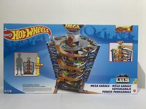Hot Wheels City MEGA 50 Garage PlaysetIncludes 1 1:64 Scale Vehicle 70cm Tall