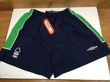 Vintage 1990s Nottingham Forest UMBRO SHORTS XLB XL Boys 3rd Kit XS Men's