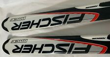 "Pre-Owned Fischer RC4 Powercore Racing Skis 140CM 54"" Pair w/ SL70 Boot Bindings"