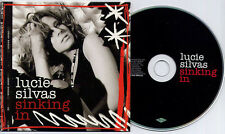 LUCIE SILVAS Sinking In 2006 UK 1-track promo CD