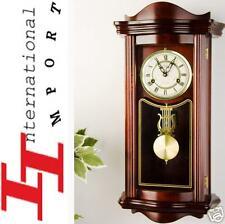 Horloge de Parquet Pendule Régulateur carillon NEUF Qualité Bois design Wandklok