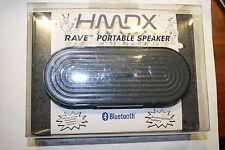 NEW HMDX Audio RAVE HX-P205 Portable Wireless Bluetooth Speaker System (Grey)