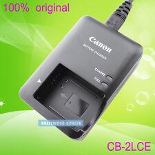 Genuino Original Canon CB-2LCE CB-2LC NB-10L Cargador De Batería Para PowerShot G1 X