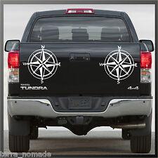 Brújula Sticker, Decal, Land Rover, 4x4, off Road, navegación, estilo, X 2