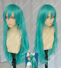 Bleach / Nel COS wig New sexy girls long Blue Green Cosplay Party wigs