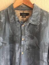 "Paul Smith Jeans in Denim Camicia ""Wildlife"" - Taglia XL"