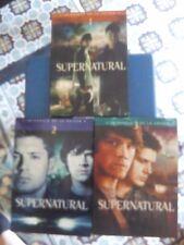 coffrets dvd supernatural saisons 1 à 3