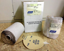 "1000 pcs Stick-On 5"" no hole 280 grit sanding disc Norton 32701 Adhesive Back"