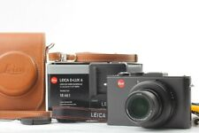 【NEAR MINT】Leica D-LUX 6 10.0MP - Black W/GENUINE LETHER CASE From JAPAN A161