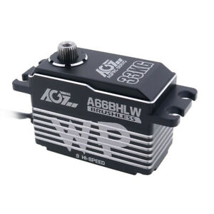 Brushless Servo 33KG HV AGF-RC A66BHLW Full Metal Case Low Profile High Voltage