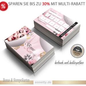 50 Bonuskarten Treuekarten Rabattkarten Gutscheinkarten Wellness Kosmetik #01