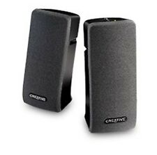 Creative SBSA35 2.0 Channel Speaker System Built-In Bass Magnetic Shield Black