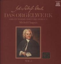 """Bach(2x12"""" Vinyl LP Box Set)Das Orgelwerk Vol.5-Telefunken-BC 25 102-Ge-Ex/Ex+"""
