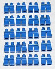 LEGO LOT OF 20 NEW SHORT BLUE LEGS KIDS BOY GIRL MINIFIGURE PANTS PARTS