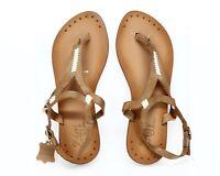Zigi Artisan Adalene Women's brown leather ankle strap sandals sz. 7 M