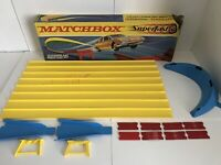 Vintage Matchbox Superfast SF-3 Curve And Space Leap Set -1970 Toy - Please Read