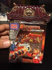New Sealed Mega Bloks Dragons Metal Ages Odaku Invasion # 9818 Magnetic