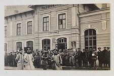 24571 Ak Radviliškis Radziwiliszki Railway Station 21.9.1918 PC Lithuania