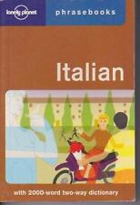 ITALIAN PHRASEBOOK & DICTIONARY LONELY PLANET PHRASE BOOKS ALMOST NEW