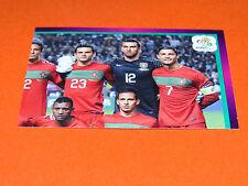 255 EQUIPE TEAM PART 2 PORTUGAL FOOTBALL PANINI UEFA EURO 2012