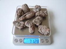 9 x Roh Rubin in Gestein insgesamt 71,2 g /356,25 ct /Längen 2,5 - 5,3 cm