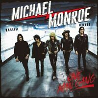 2019 CD MICHAEL MONROE ONE MAN GANG with BONUS TRACKS + DVD Album Rock