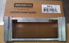 """Nemco Tomato Slicer Blade Assembly 566-2 1/4"""" Cartridge Style for 56600-2"""