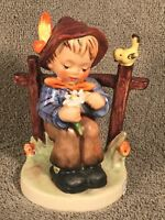 """Goebel Hummel Figurine #174 """"She Loves Me She Loves Me Not"""" TMK5 Germany 4.25"""""""