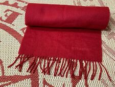 BURBERRY LONDON CASUAL MEN SCARF 100% CASHMERE MADE IN ENGLAND ONE SIZE ORIGINAL