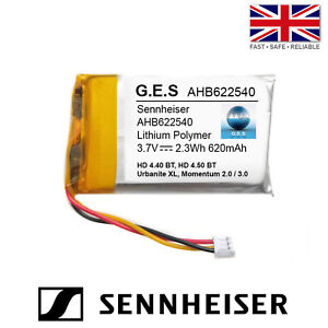 Sennheiser Momentum 2/3, HD 4.40BT, HD 4.50 Battery - 3.7V 620mAh AHB622540