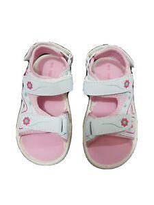 Chatterbox girls cross strap sl girls kids summer sandals gold UK Size 10