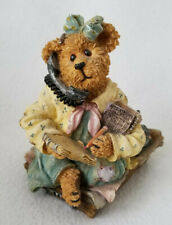 Boyds Bears Ineeda Break Bearstone Collection Secretary / Assistant Gift 3E 3032