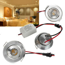3W LED Recessed Ceiling Panel Down Light Fixture Bulb Spot Lamp Cool Warm White