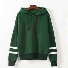 Women Long Sleeves Hoodie Sweatshirt Hooded Jumper Sweaters Pullover Coats Tops