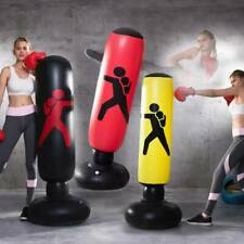 Heavy Duty Standing Boxing Punch Bag Kick UFC Training Indoor Sports Inflatable